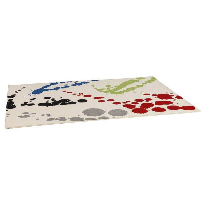 Contemporary rug rectangular design ROUBE (multicolor) - image 20490