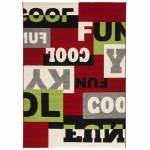 Tappeti contemporanei e design rettangolare LOUKAN (160 X 230) (multicolor)