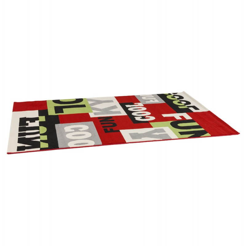 Contemporary rugs and design rectangular LOUKAN (160 X 230) (multicolor) - image 20499