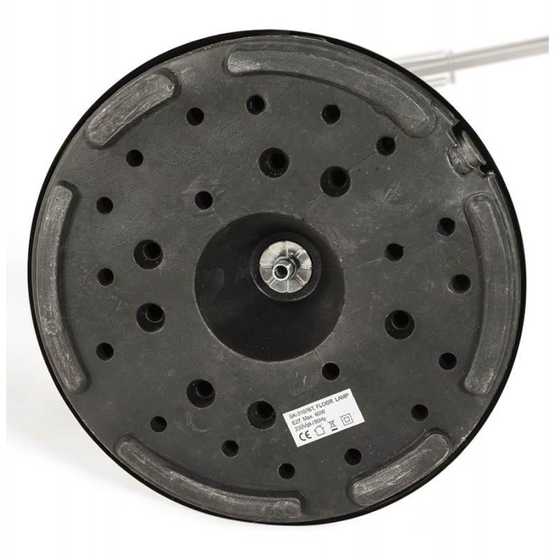 Pie de lámpara diseño COTINGA cepillado de metal (aluminio) - image 20517