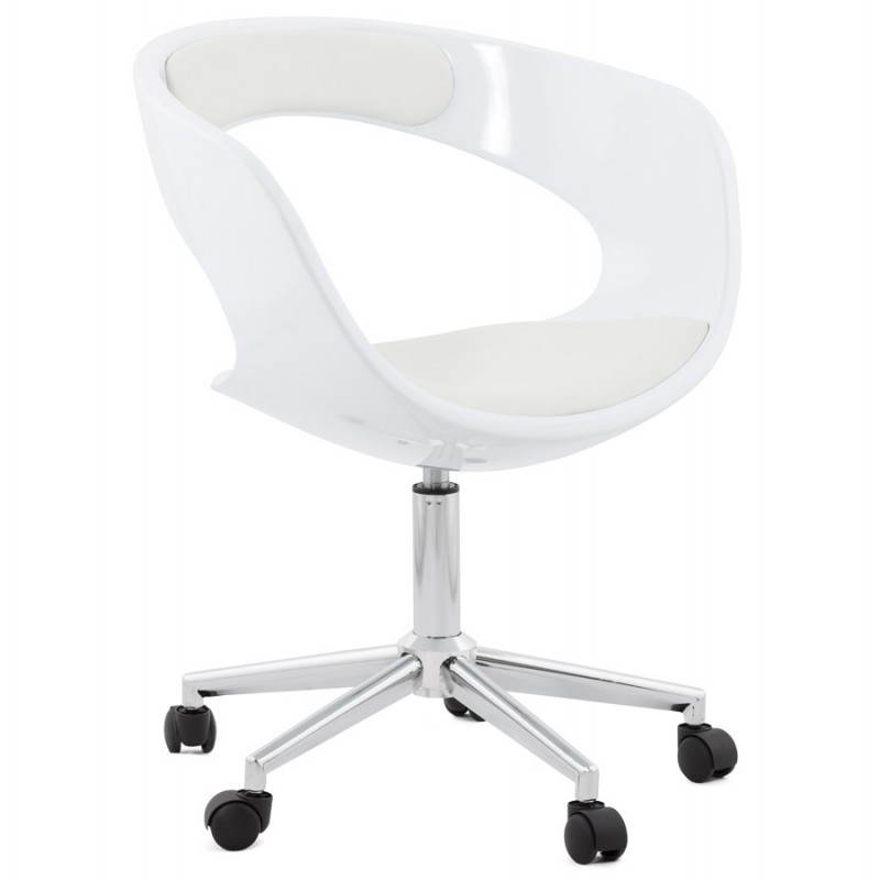 RAMOS rotating sphere office chair (white) - image 20572