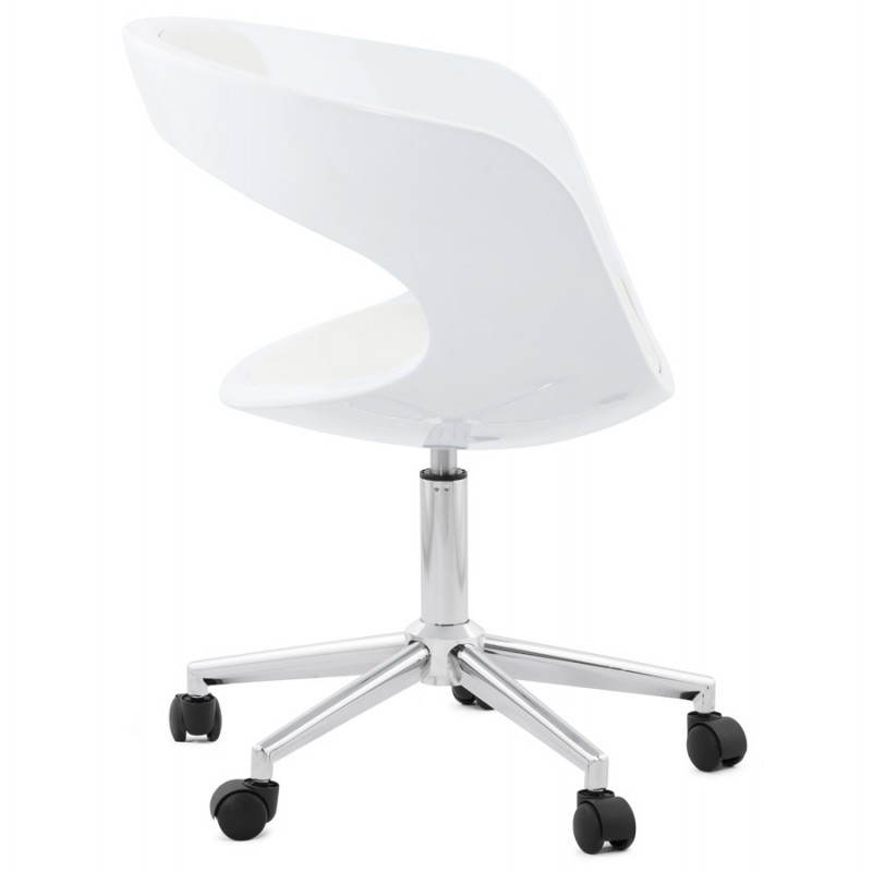 RAMOS rotating sphere office chair (white) - image 20574