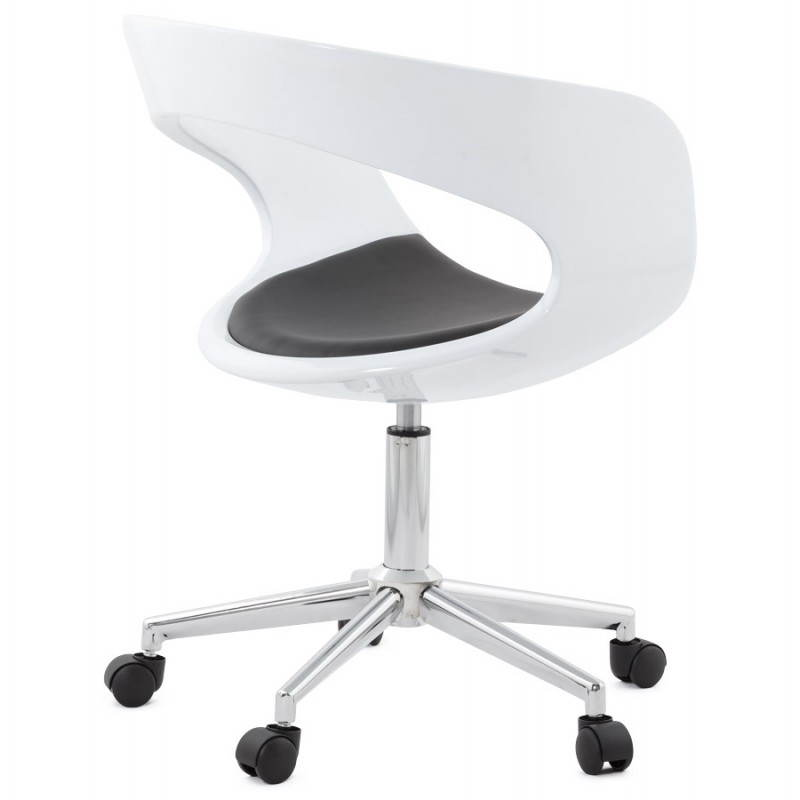 RAMOS rotating sphere office chair (white and black) - image 20587