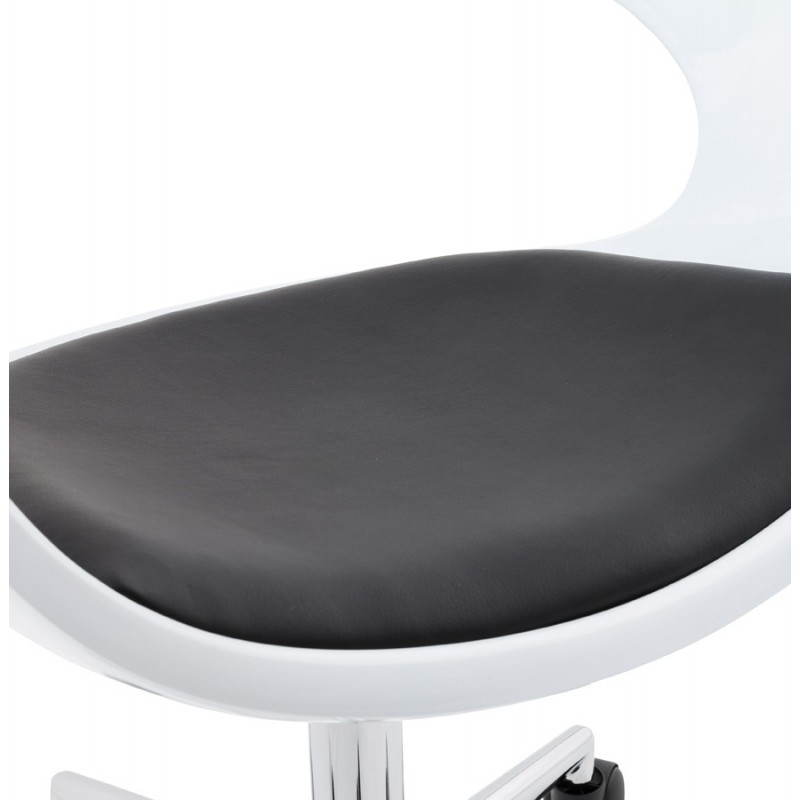 RAMOS rotating sphere office chair (white and black) - image 20590