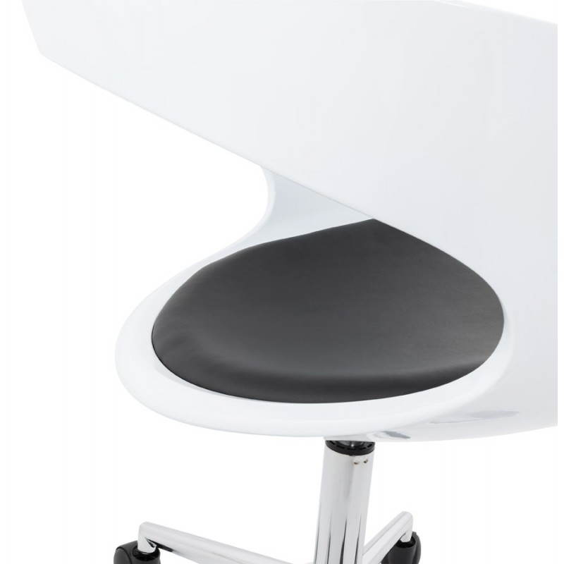 RAMOS rotating sphere office chair (white and black) - image 20592