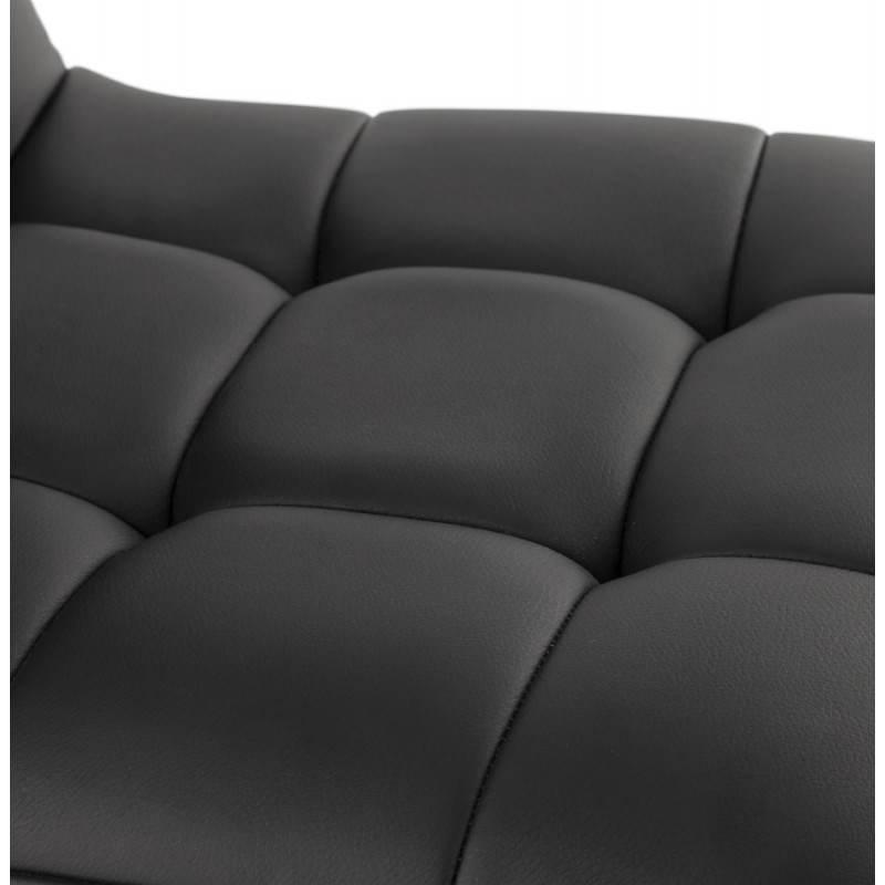 Hocker drehbar und verstellbar gepolsterte bar anais schwarz for Hocker verstellbar