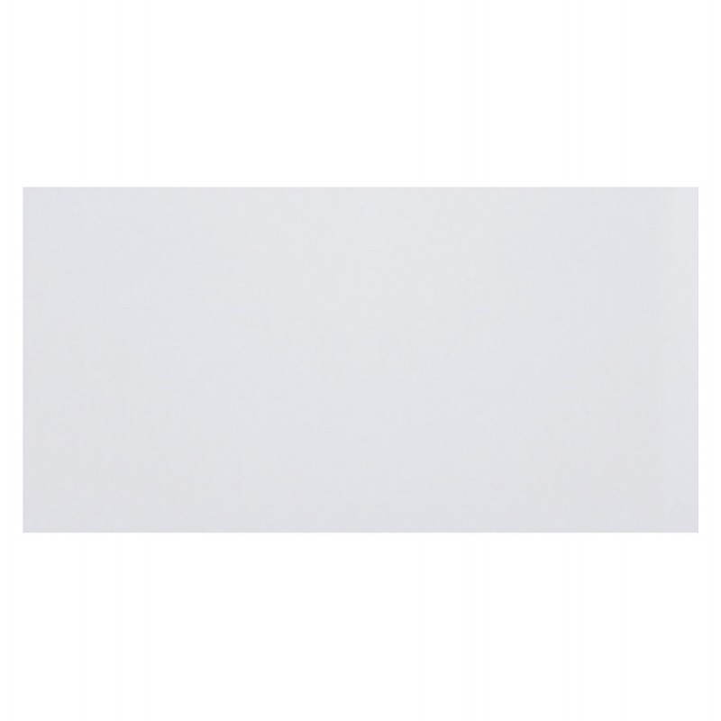 Plateau de table GRENADINE en bois (140cmX70cmX3cm) (blanc)