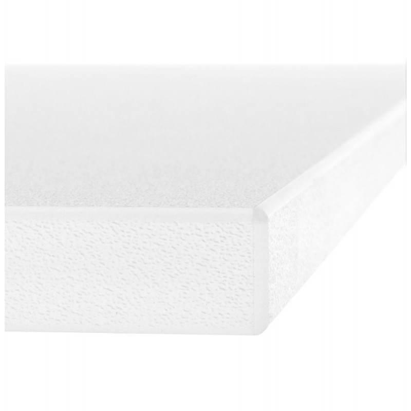 Plateau de table GRENADINE en bois (140cmX70cmX3cm) (blanc) - image 20979