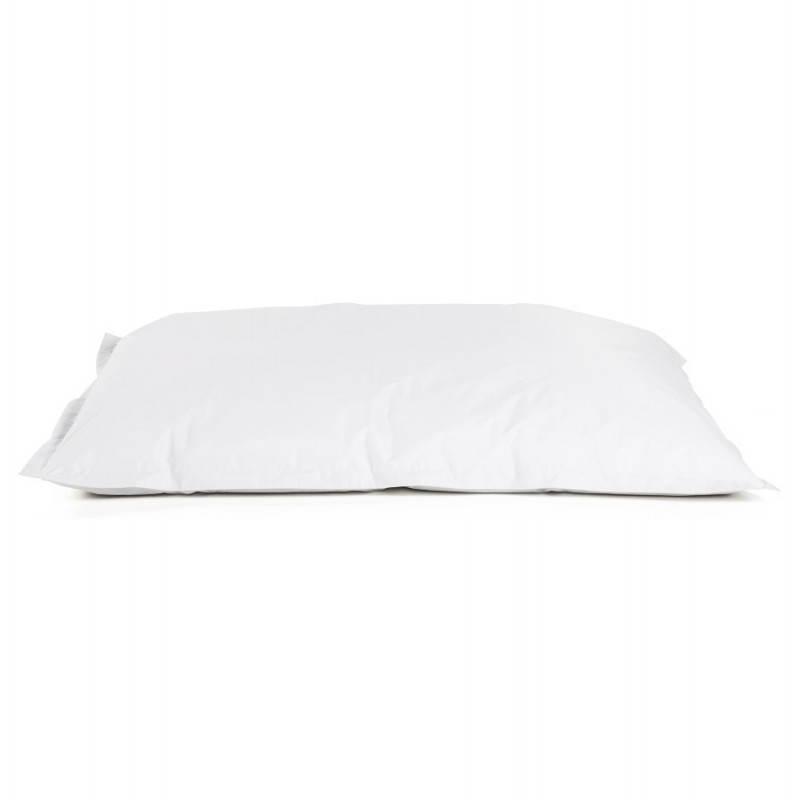 Pouf rectangulaire MILLOT en textile (blanc) - image 21258