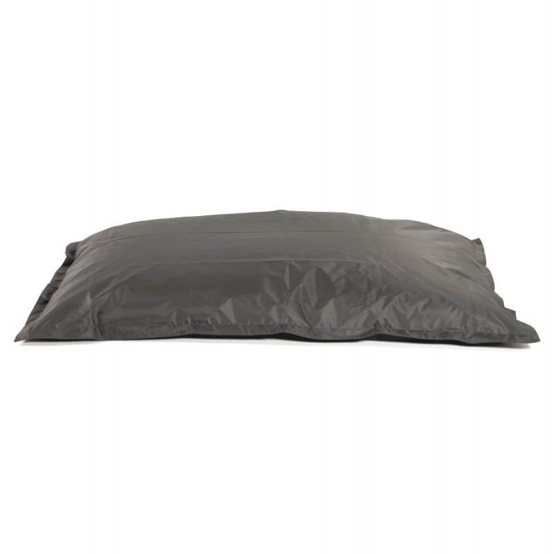 Puff rectangular MILLOT textile (dark grey) - image 21288