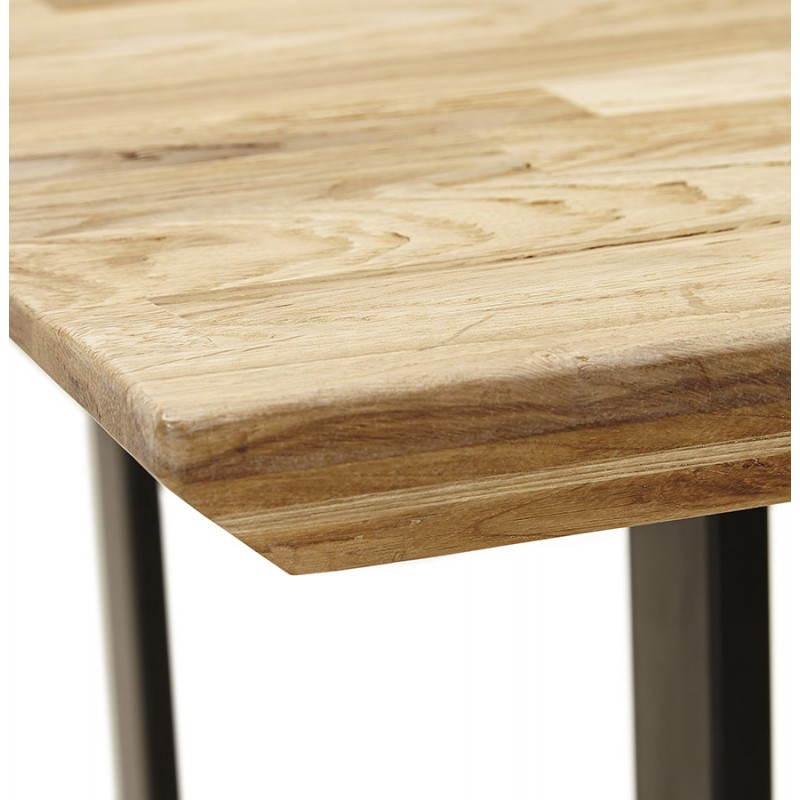 Tavolo Moderno Rettangolare In Rovere Legno Naturale Nn
