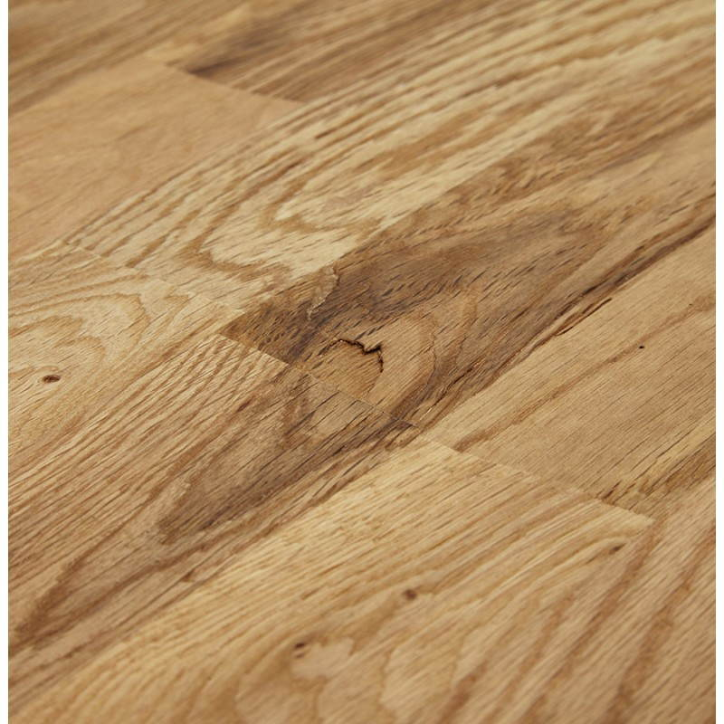Table moderne rectangulaire NANOU en chêne (bois naturel) - image 21362