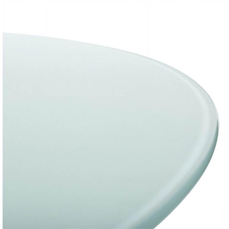 Design-Roundtable Suma in gehärtetem Glas und Glasfaser (Ø 140 cm) (Sand) - image 21542