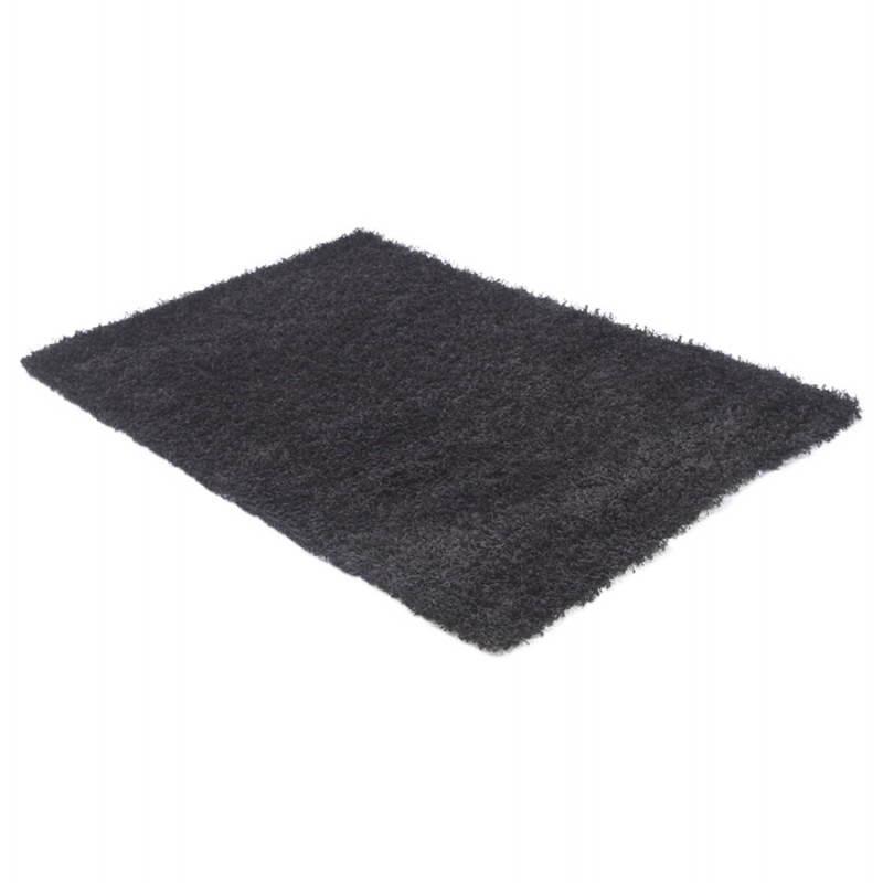 Tapis contemporain et design MIKE rectangulaire grand modèle (330 X 240) (noir) - image 21598