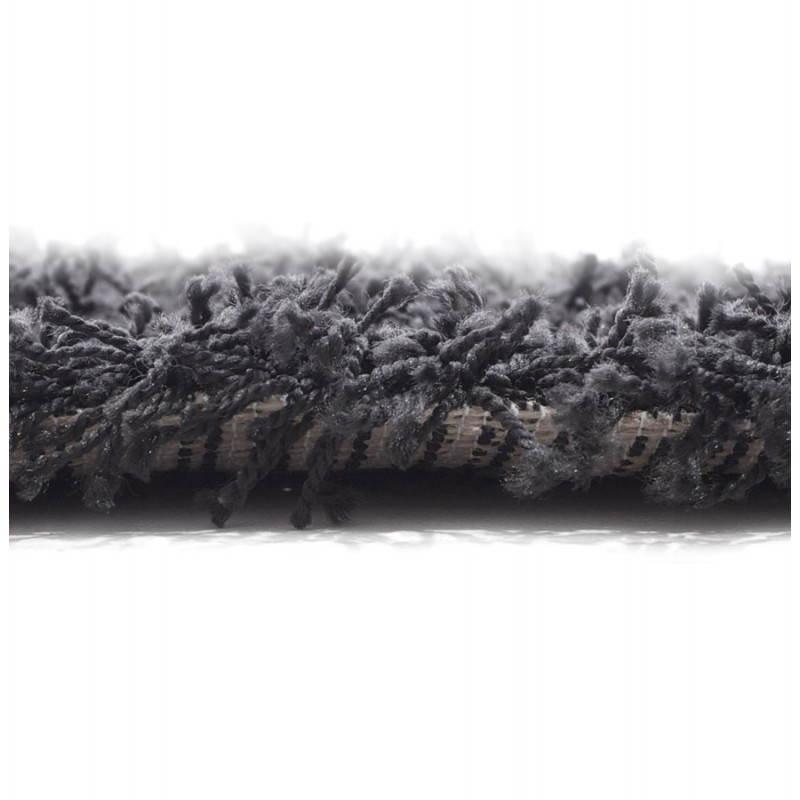 Tapis contemporain et design MIKE rectangulaire grand modèle (330 X 240) (noir) - image 21600