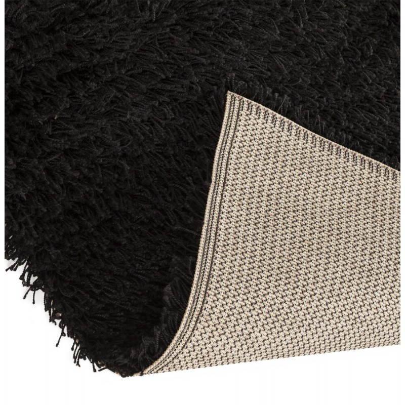 Tapis contemporain et design MIKE rectangulaire grand modèle (330 X 240) (noir) - image 21601
