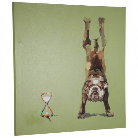 Decorative canvas BULDOG