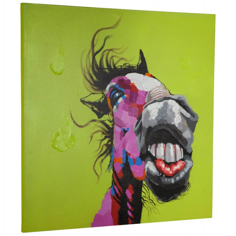 Decorative canvas horse  - image 21645
