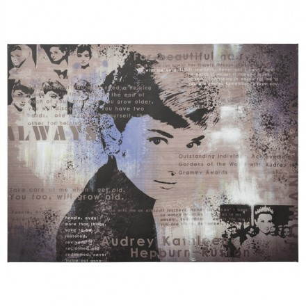 Decorative canvas AUDREY HEPBURN