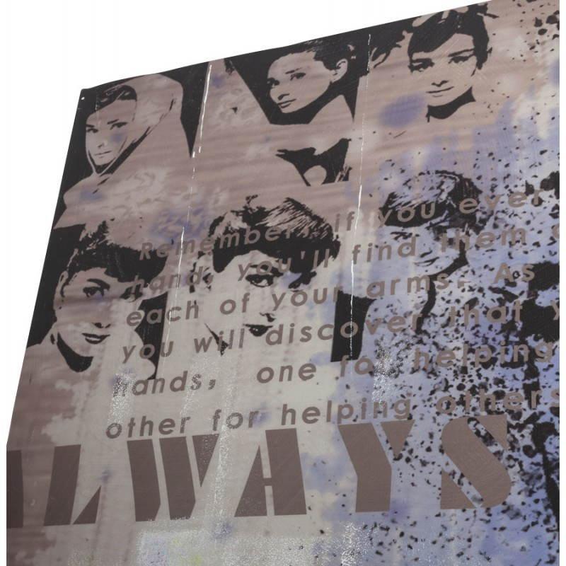 Decorative canvas AUDREY HEPBURN  - image 21753