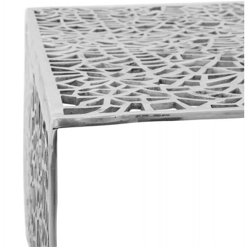 Mesa de centro cuadrada dama en aluminio  - image 21785