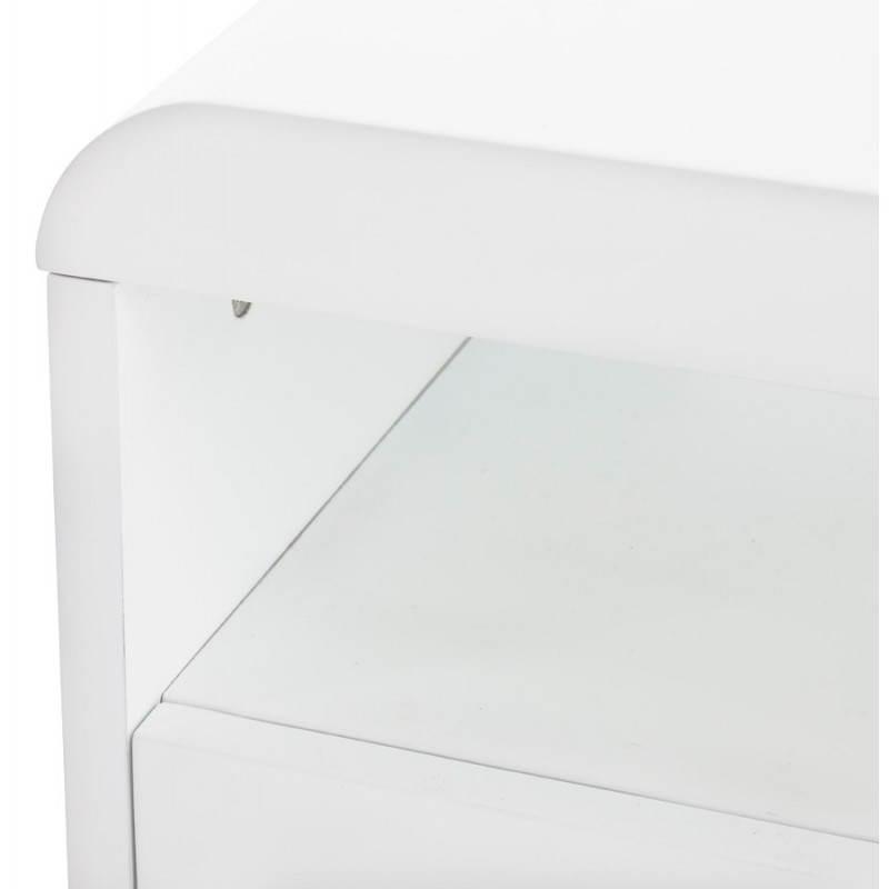 Meuble TV LIFOU en bois laqué (blanc) - image 21911