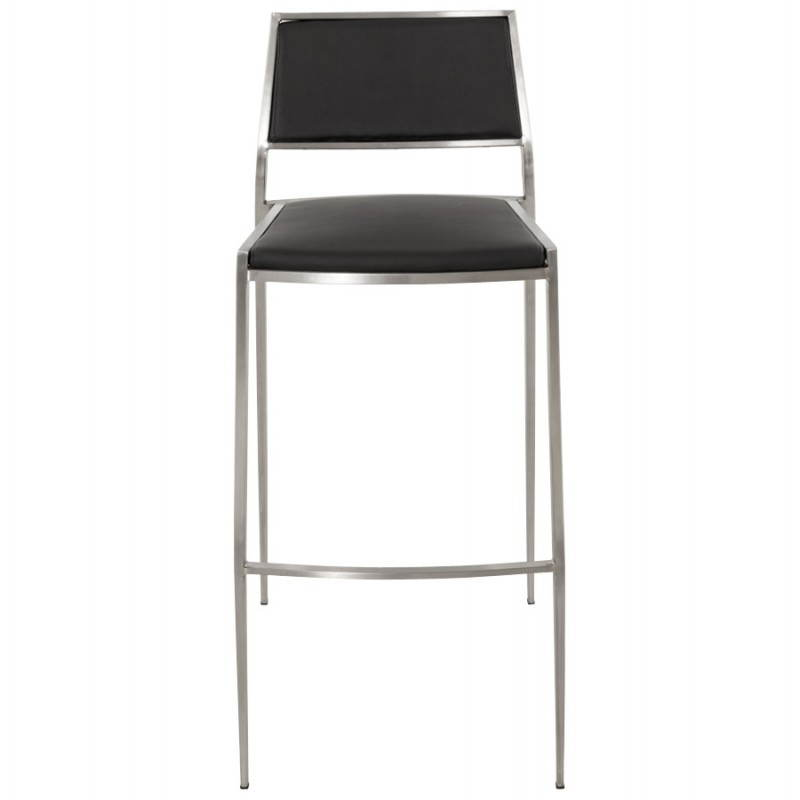 Tabouret de bar design et empilable SABRY (noir) - image 22085