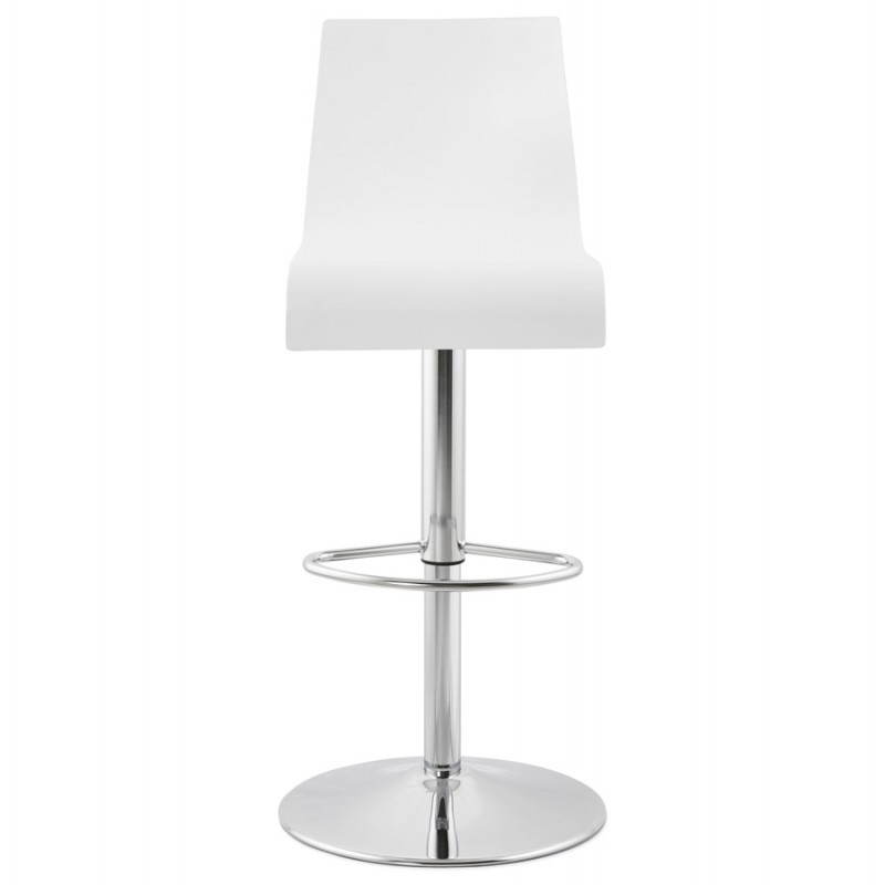Design bar Venice (white) wooden stool - image 22319