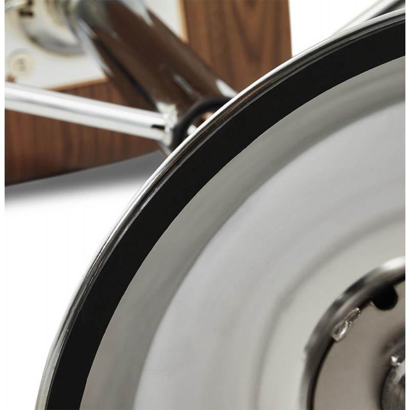 Tabouret de bar design ROME en bois (walnut) - image 22364