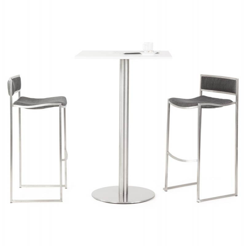 SICILY (grey) textile design bar stool - image 22378