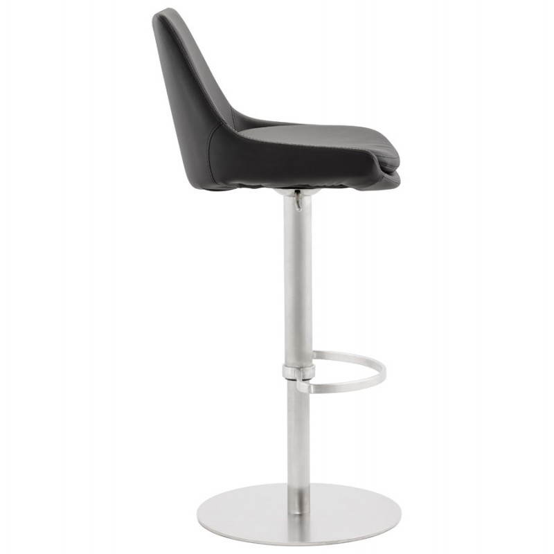 AMBRE rotating and adjustable design bar stool (black) - image 22381