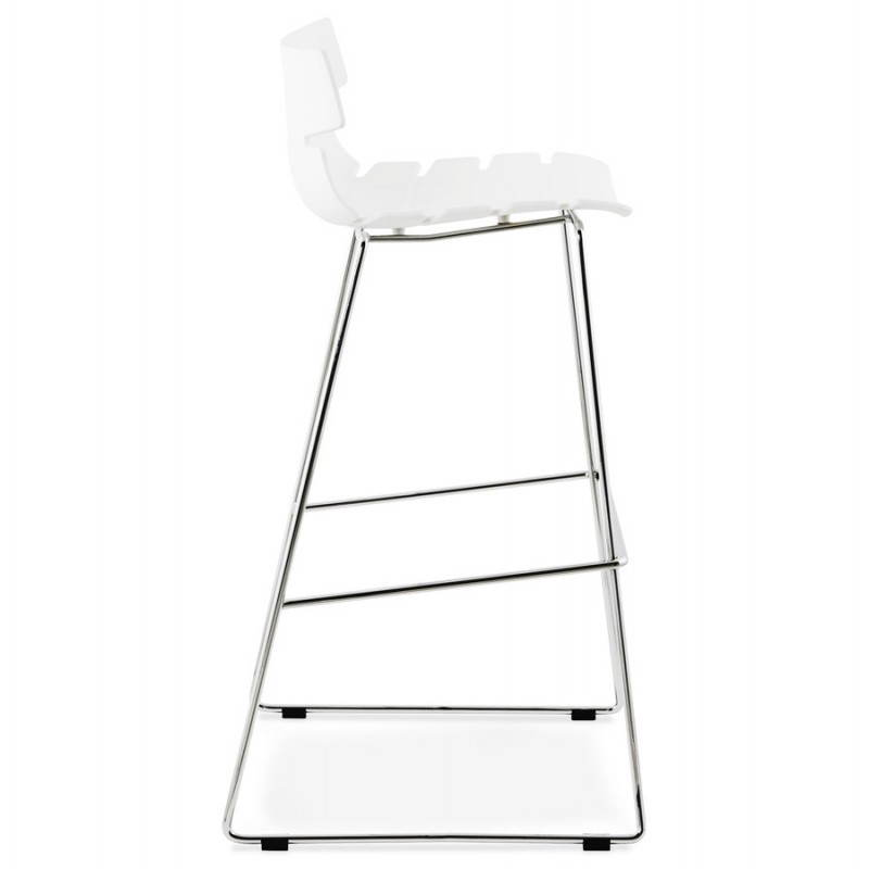 Design bar BRIO (white) polypropylene stool - image 22444