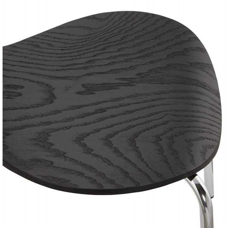 Chaise polyvalente CATANE en bois (noir) - image 22484