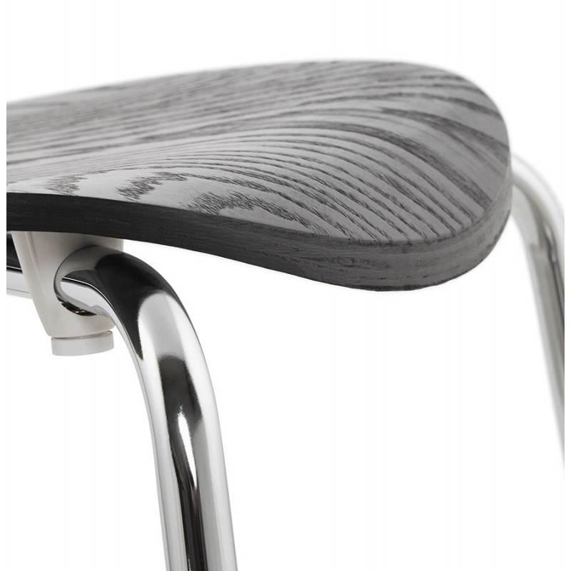 Chaise polyvalente CATANE en bois (noir) - image 22486