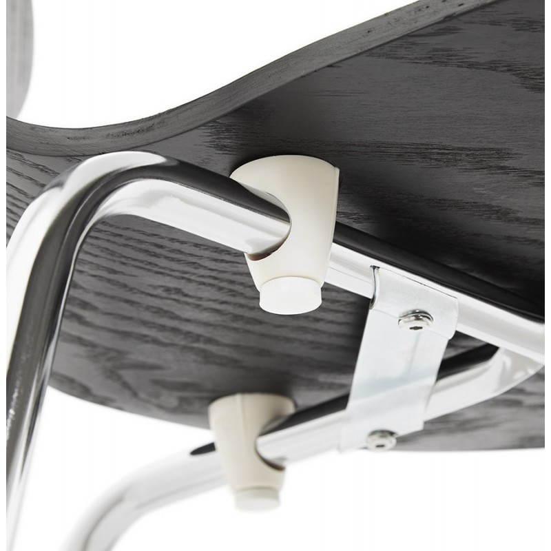 Chaise polyvalente CATANE en bois (noir) - image 22488
