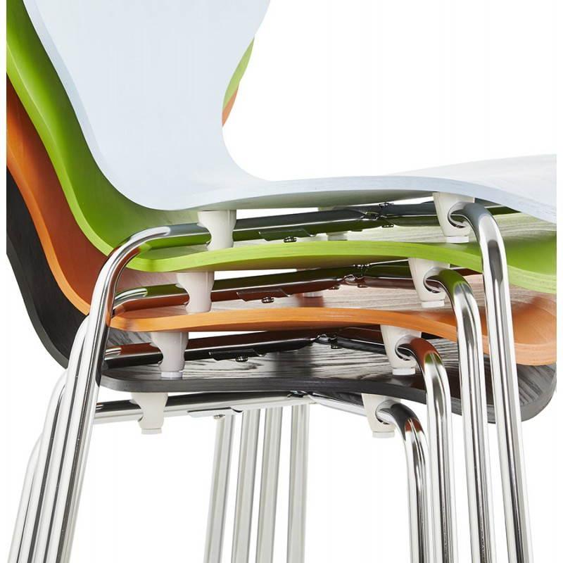 Chaise polyvalente CATANE en bois (noir) - image 22492