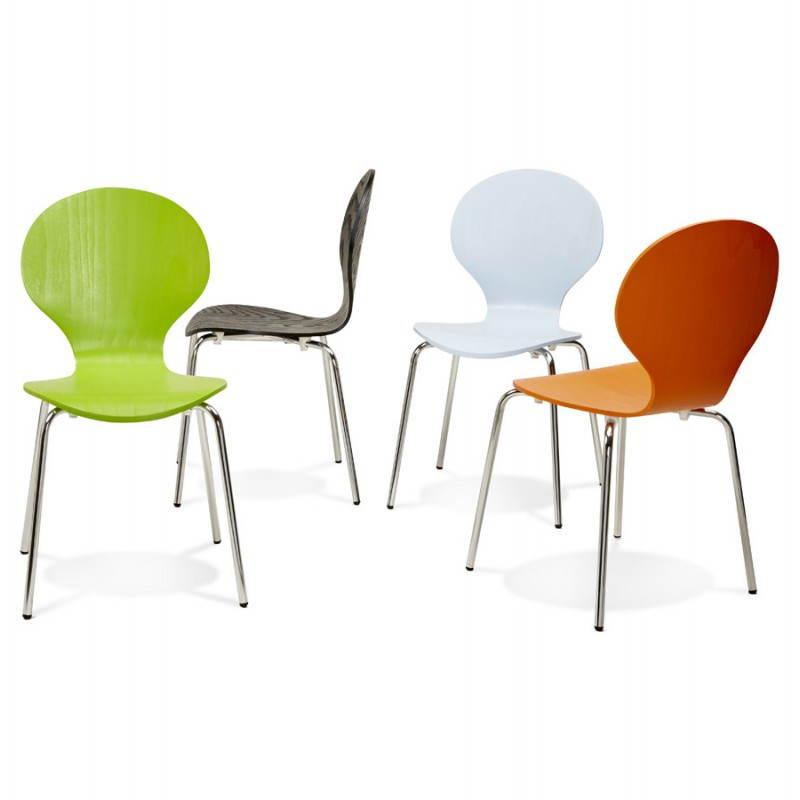 Catania (black) wooden multipurpose chair - image 22493