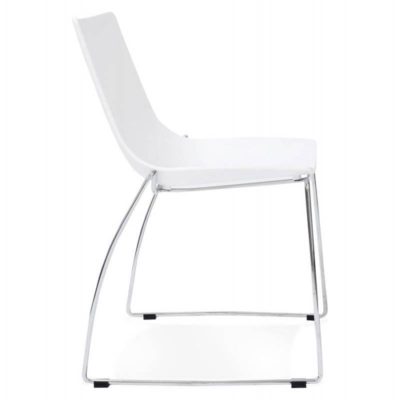 Chaise design et moderne NAPLES (blanc) - image 22607
