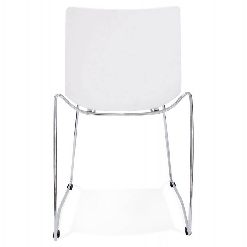 Design chair and modern NAPLES (withe) - image 22609