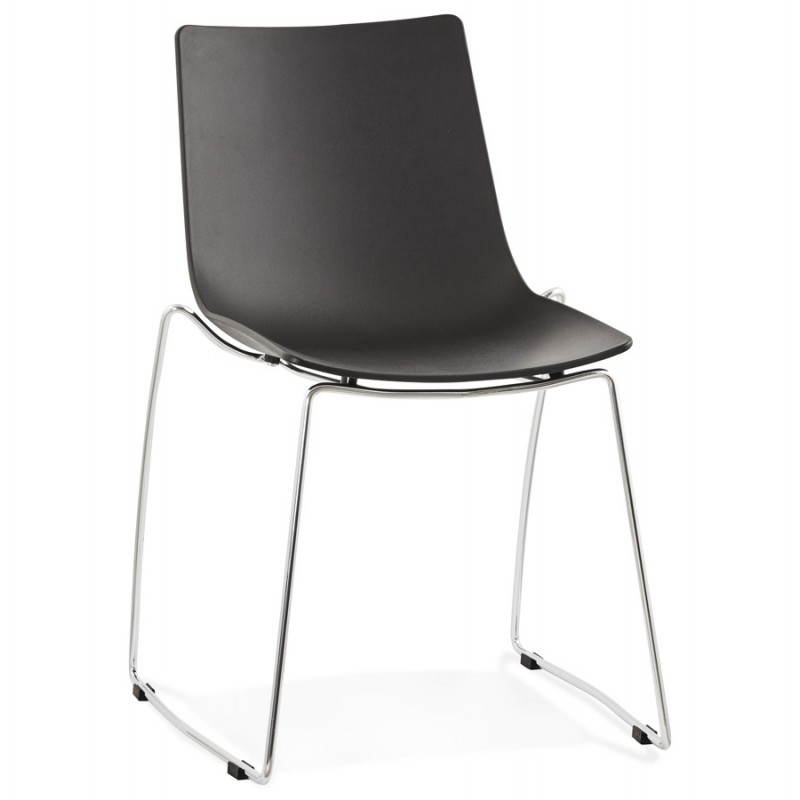 Chaise design et moderne NAPLES (noir) - image 22699