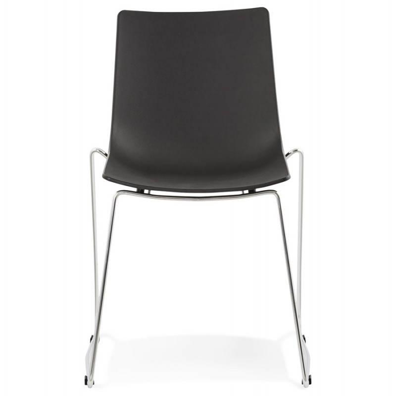 Chaise design et moderne NAPLES (noir) - image 22700