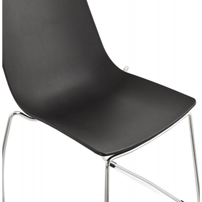 Chaise design et moderne NAPLES (noir) - image 22704