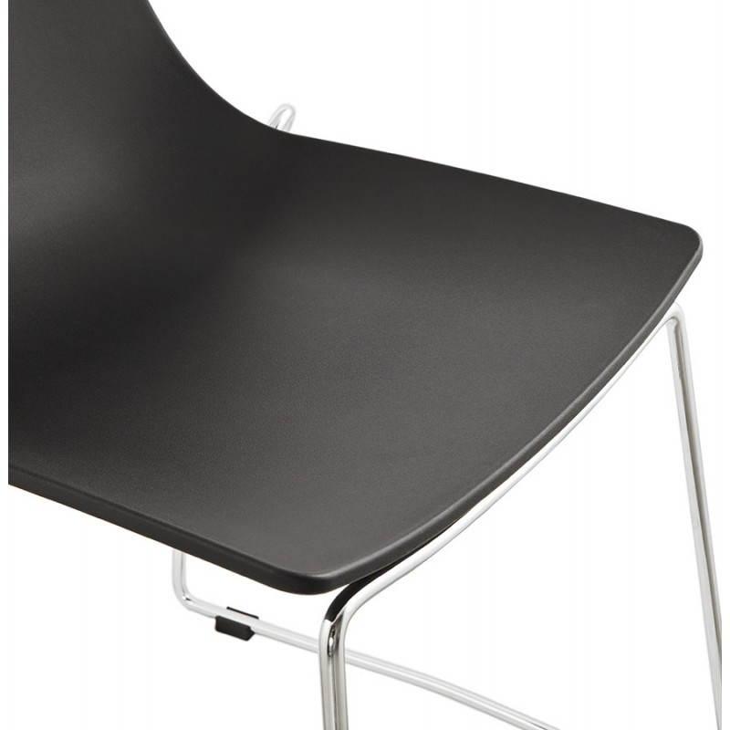 Chaise design et moderne NAPLES (noir) - image 22705