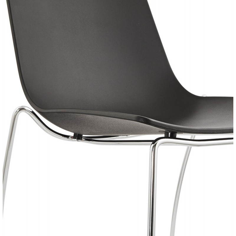 Chaise design et moderne NAPLES (noir) - image 22707