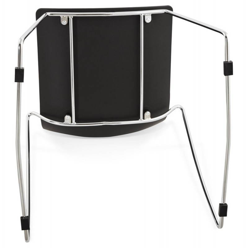 Diseño de silla y moderno Nápoles (negro) - image 22712