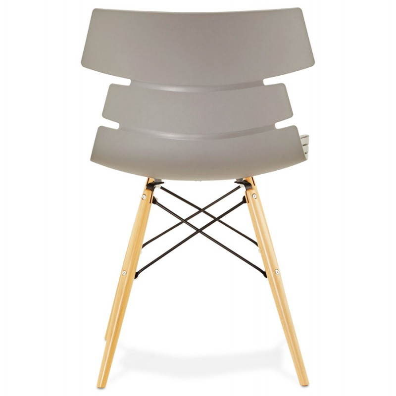 Chaise originale style scandinave CONY (gris) - image 22782