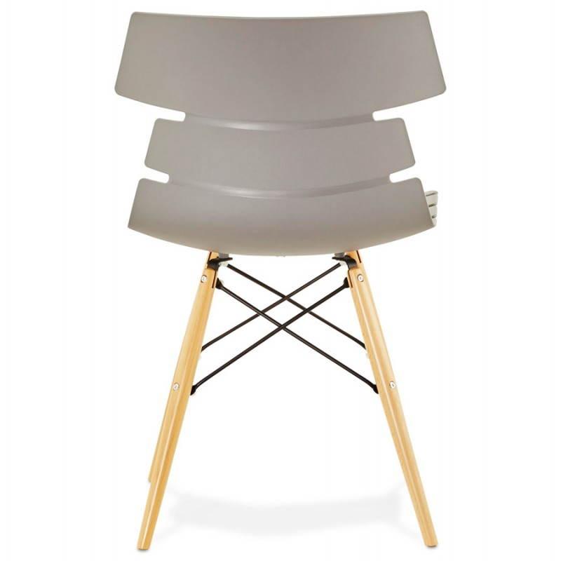 Estilo de silla original escandinavo CONY (gris) - image 22782
