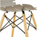 Original Stuhl Stil skandinavischen CONY (grau)