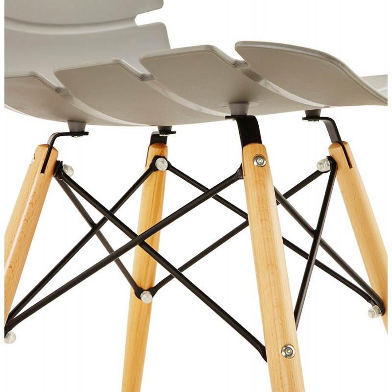 Estilo de silla original escandinavo CONY (gris) - image 22785