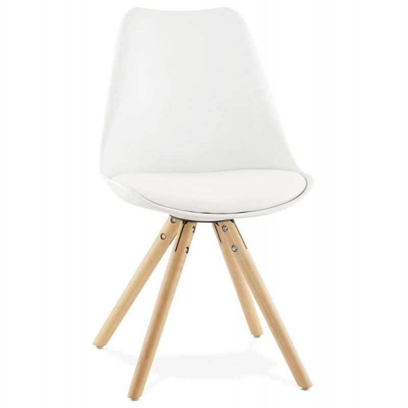 Moderner Stuhl Stil skandinavischen NORDICA (weiß) - image 22793